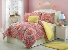 Izzy Multicolored  Girls 5-piece Twin Comforter Set-Item #2856