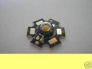 1w 1watt LED BIANCO CALDO ALTA POTENZA 60 LUMEN BIANCO CALDO 3000k LUXEON