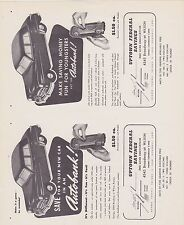 1950s BANTHRICO BANK ad sheet AUTOBANK - SAVE FOR YOUR NEW CAR