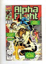 ALPHA FLIGHT - MARVEL COMIC - VOL 1 #85 - JUNE 1990