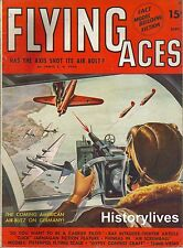 Flying Aces Magazine Schomburg Grumman TBF Avenger Havoc ParachutesFighter