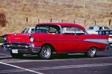 778043 1957 Chevrolet Belair Hardtop A4 Photo Print