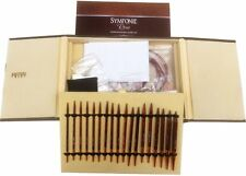 Knitter's Pride Symfonie Rose Interchangeable Deluxe Needles -Set of 9 Brand-new