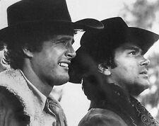 Alias Smith & Jones 1971 Pete Duel & Ben Murphy b/w 11x14 profile portrait