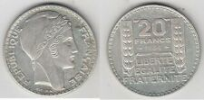 C1 20 Francs TURIN 1934 SUP Argent