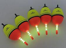 5 Piece 40g EVA Floats +10pcs Glow Stick Fishing Floats Luminous Lighting EVA...