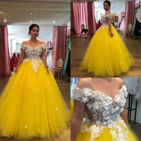 Quinceanera Dresses Sweetheart Ball Gown Tulle Evening Party Gown Sweet 16 Dress