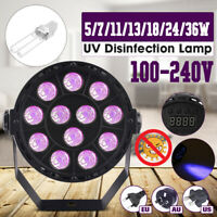 36W Portable UVC Germicidal UV Lamp ~l Home Disinfection Sterilizer Tube