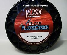 VICIOUS PRO ELITE 100%  FLUOROCARBON  10 lb 500 yds FISHING LINE