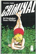 CRIMINAL #8-11 RUN - SEAN PHILLIPS ART & COVER - ED BRUBAKER STORY - IMAGE/2019