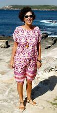 Paper Fig NWT Pink Tan & Maroon Shift Dress Sizes 10,12,14,16,18,20,22,24 PLUS