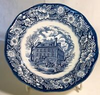 Staffordshire Liberty Blue Round Vegetable Bowl