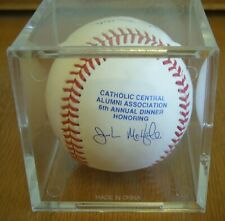 John McHale Signed Baseball RCC Rawlings Catholic Central 6th Annual Dinner