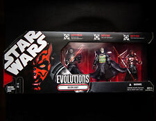 Star Wars SITH Evolutions The Sith Legacy Darth Nihilus Set Kit 3 Pack 2008 MINT