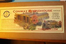 N SCALE CONWAY ROUNDHOUSE   by N SCALE ARCHITECT # 10024