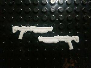 Custom Cast 2 pack Gun set Compatible with Destiny Mega Construx