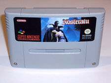 NOSFERATU - PAL IN ENGLISH GAME - SUPER NINTENDO SNES - DRACULA