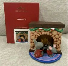 Hallmark Ornament 2020 Merry Mice Nat Cole - The Christmas Song NEW Free Ship!
