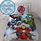 Marvel Avengers Strike Set Housse de couette simple Parure de lit réversible