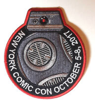 "New York Comic Com 2017 Promo Patch- Star Wars Droid 4"" - ADVANCE SALE!"