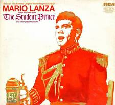 SOUNDTRACK THEATER LP MARIO LANZA THE STUDENT PRINCE