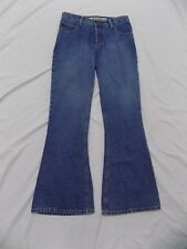 NWT Mudd Blue Jeans Flare Bell Bottom Denim Button Fly Junior 11 32X29 432014