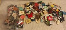 X-LARGE COLLECTION: MATCHBOOKS FROM AROUND THE WORLD, HOTELS, RESTAURANTS ETC.