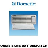 LS100 Dometic Top Vent Grill White - With Winter Cover