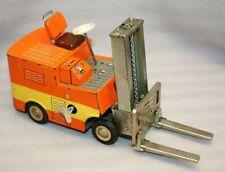 Rare Vintage Litho Tinplate Friction Powered Forklift MF-994 Yale Forklift Truck