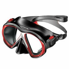 Atomic Aquatics SubFrame Scuba Diving Mask - Red/Black 04-0135-00