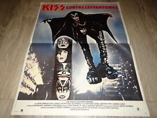 KISS contre les fantomes Peter Criss  Ace Frehley Gene Simmons  affiche cinema