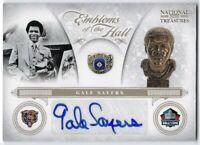 2012 Panini National Treasures #25 Gale Sayers Chicago Bears HOF Auto Card #/25