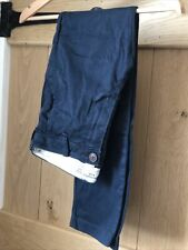 abercrombie and fitch Boys Navy Blue Chinos Age 11/12