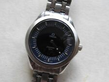 GENTS VINTAGE OMEGA SEAMASTER ANALOG DIGITAL QUARTZ WATCH STUNNING WATCH