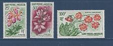 ST PIERRE & MIQUELON - 360 - 361; C24 -  MH - 1962 -  FLOWERS