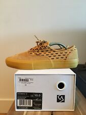 Vans Yellow WTAPS Syndicate Authentic S Size 10 Mens US
