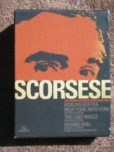 The Martin Scorsese Film Collection Special Edition Box Set (DVD)
