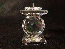 Swarovski Crystal Candle Holder Single Ball, Pin Style #7600 w/No Box