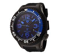 Swiss Legend Men's 21848P-02 Neptune Black Silicone Watch 0421