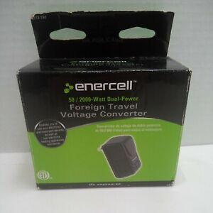 Enercell 50/2000 Watt Dual-Power Foreign Travel Voltage Converter Model273-192