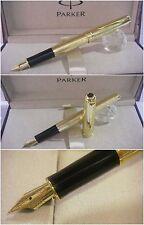 Penna Stilografica Parker Sonnet Premium Golden Ghiglioscè fountain pen