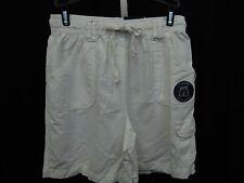 Karen Scott Petite Comfort Waist Drawstring Bermuda Shorts Bright White PP #2366