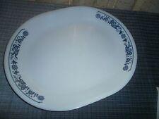 "Corelle Vintage Old Town Blue Serving Platter 12.25"" x 10""Great Condition"