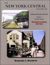 NEW YORK CENTRAL Stations & Structures, River Div. Newburgh to Albany (NEW BOOk)