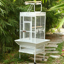 New Style Bird Cage Large Play Top Parrot Finch Cage Macaw Cockatoo Pet Supply