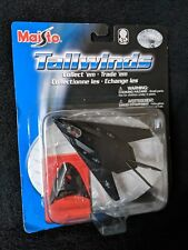 Maisto Tailwinds F-117 Nighthawk with Stand Die Cast Metal Black 2005 NIB