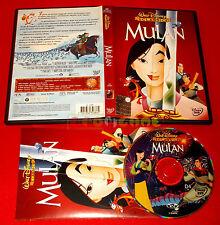 Walt Disney MULAN - Dvd Bollino Olografico Tondo - USATO