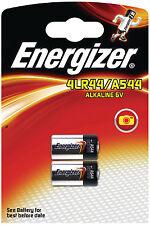 Energizer batterie alcaline 4LR44 A544  G13 PX28A  V28GA  544AE 6V 2-blister