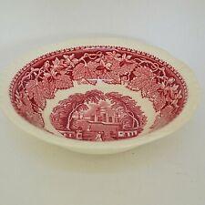 Mason's Pink Vista Coup Cereal Bowl Gadroon Rim