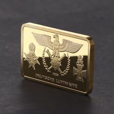 Commemorative Coin Germany Bomber Golden Square Collection Arts Gifts Souvenir
